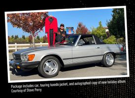1979 Mercedes-Benz 450SL, Donated by Steve Perry, formerly of Journey