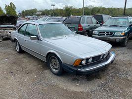 1981 BMW 6 Series