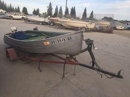 1991 Aluminum 13' Fishing boat